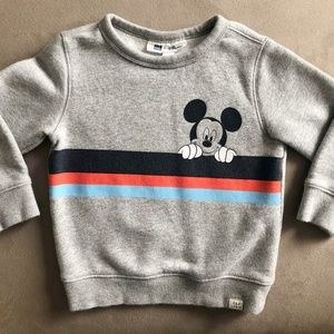 GAP Shirts & Tops - GAP Toddler Mickey Mouse Sweatshirt